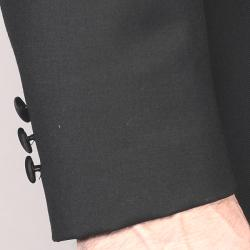 Men's Black Wool Tuxedo - Thumbnail 1