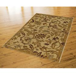 New Wave Lancaster Beige Rug (8' x 10') - Thumbnail 2