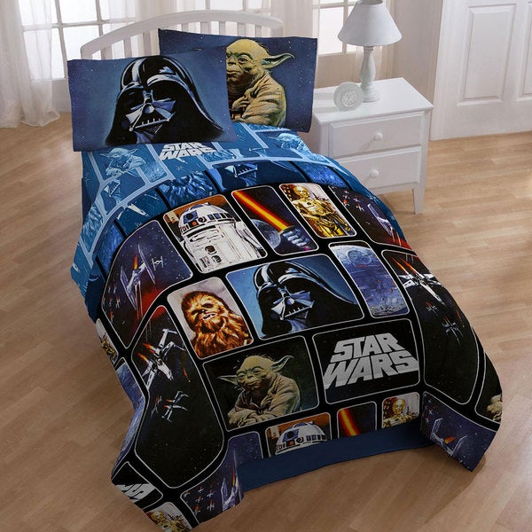 Shop Star Wars Collage 4 Piece Twin Size Bed In A Bag With