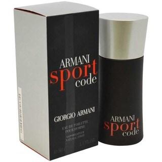 Giorgio Armani Code Sport Men's 1.7-ounce Eau de Toilette Spray
