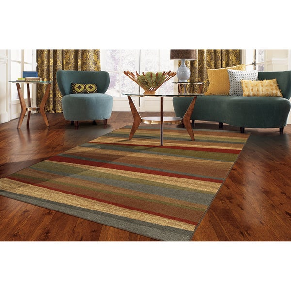 "Mohawk Home New Wave Mayan Sunset Sierra Area Rug (7'6"" x 10')"