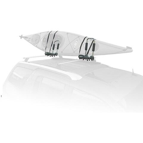 SpareHand VR-861 Foldable Roof-mount Metallic-gray Kayak Carrier