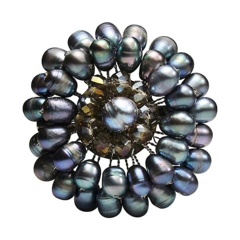 66dd0cdd4044a Buy Black Brooches & Pins Online at Overstock   Our Best Charms ...