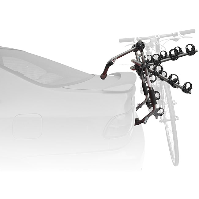 SpareHand 'Contour' Universal Trunk-mount 3-Bike Carrier Rack