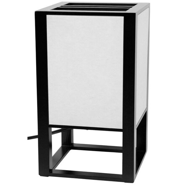 Black Washitsu Japanese-Style Table Lamp (China)