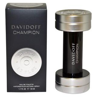 Davidoff Champion Men's 1.7-ounce Eau de Toilette Spray