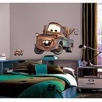 RoomMates Cars Mater Peel and Stick Giant Wall Decal