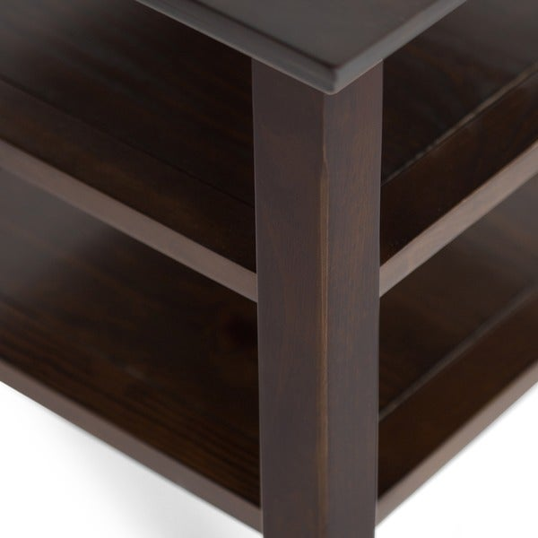 Hideout End Table Free Shipping: Shop WYNDENHALL Normandy End Table