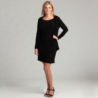 Jessica Howard Women's Black 2-piece Dress FINAL SALE