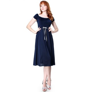 Evanese Women's Capped Sleeve Dress (More options available)