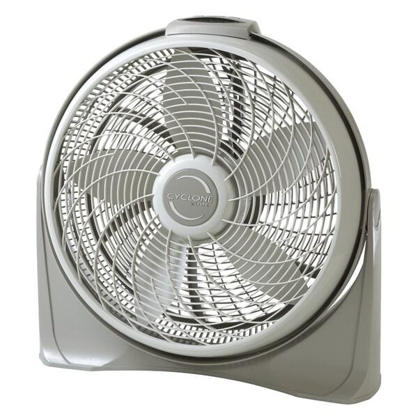 Lasko Grey 20-inch Cyclone Fan