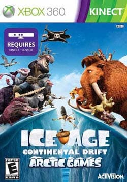 Xbox 360 - Kinect Ice Age Continental