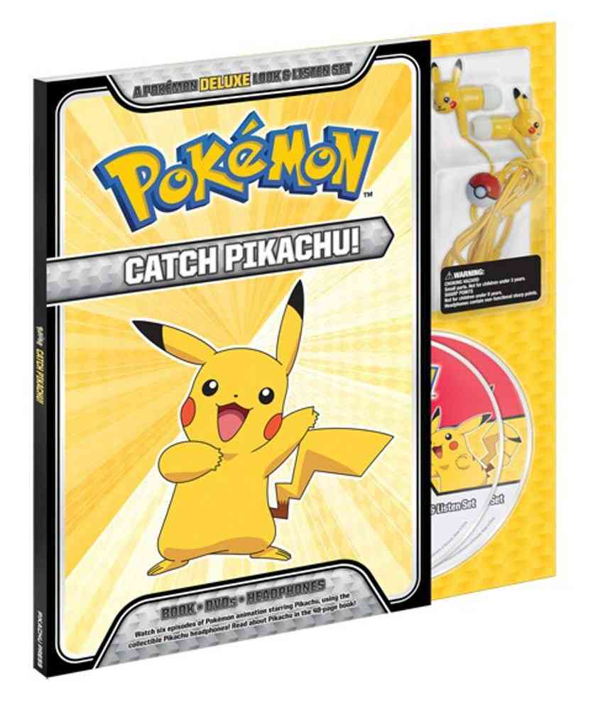 Catch Pikachu!: A Pokemon Deluxe Look & Listen Set