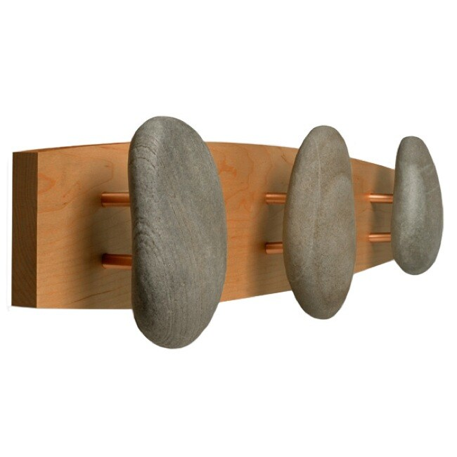 Triple Cherry Natural Stone Hooks