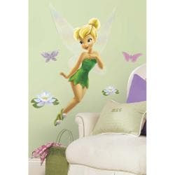 Tinkerbell Peel & Stick Giant Glitter Wall Decal