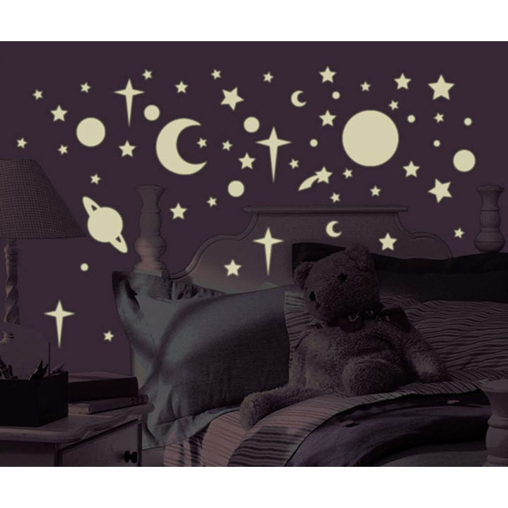 Celestial Glow in the Dark Peel and Stick Wall Decals