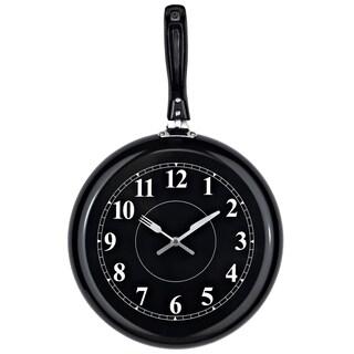 Pan Shaped Wall Clock