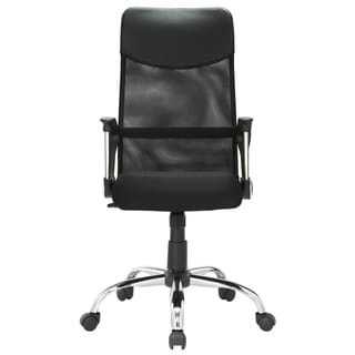 East End Imports Black High Back Task Chair Free Shipping Today Overstock