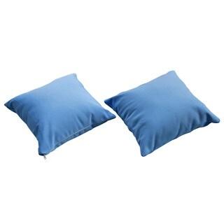 Allegra Light Blue 14-inch Outdoor Pillow