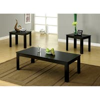Furniture of America Santee 3-piece Coffee and End Table Set