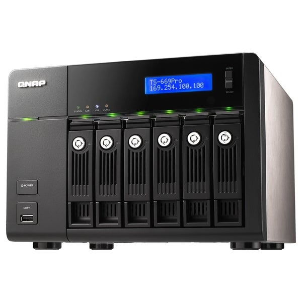 QNAP TS-669 Pro Network Storage Server