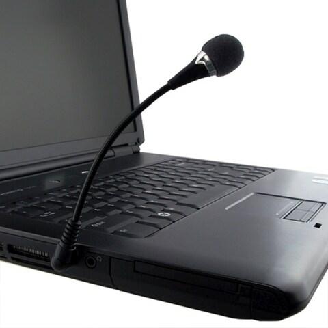 INSTEN Black VoIP/ SKYPE Mini Flexible Microphone