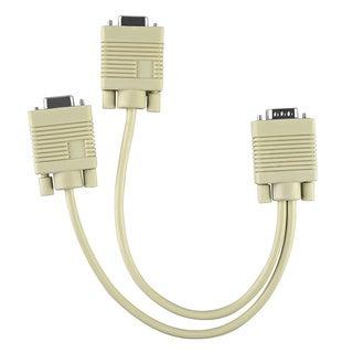 INSTEN M/ F VGA Y-Split Cable 7-inch