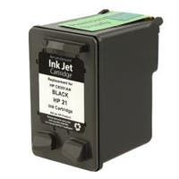 Insten Black Remanufactured Ink Cartridge Replacement for HP C9351A/ 21