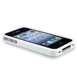 BasAcc Solid White TPU Bumper Case for Apple iPhone 4/ 4S