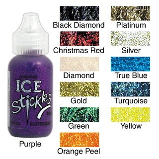Ice Stickles One-ounce Acid-free Nontoxic Glitter Glue