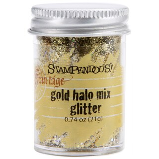 Stampendous 0.74-ounce Jar Halo Fine and Medium-sized Glitter Mix (Option: Silver)