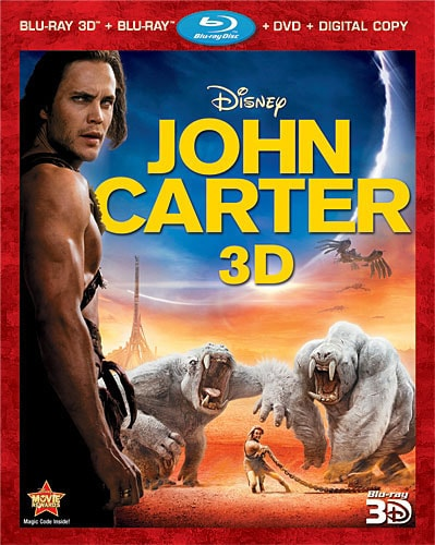 John Carter 3D (Blu-ray/DVD)
