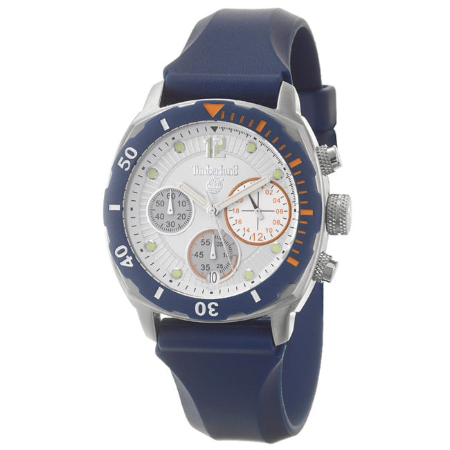 Timberland Women's 'Ocean Adventure' Stainless Steel Silicon Quartz Watch - Thumbnail 0