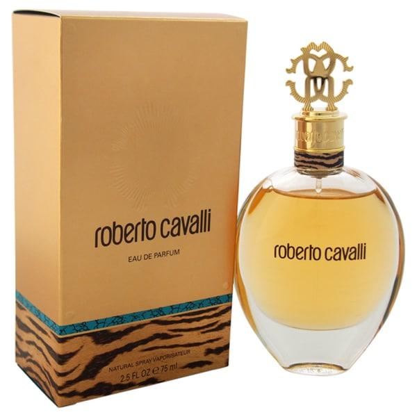 shop roberto cavalli women 39 s 2 5 ounce eau de parfum spray. Black Bedroom Furniture Sets. Home Design Ideas