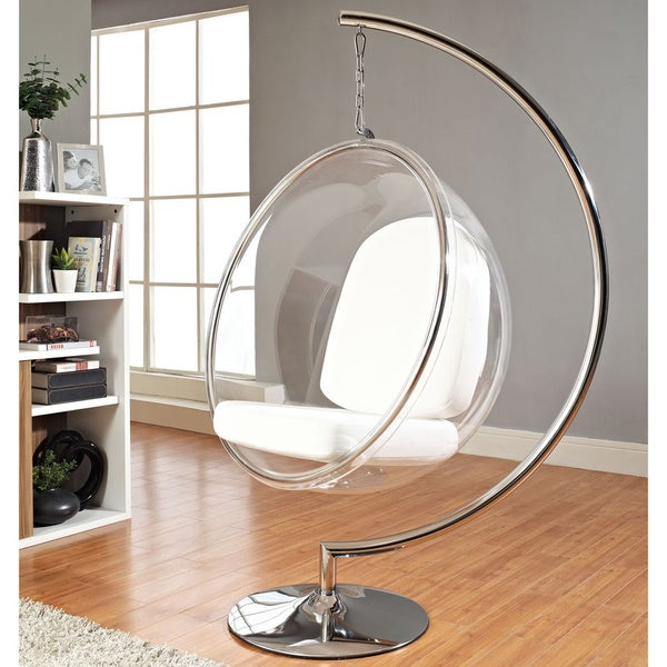 Eero Aarnio Style Bubble Chair With Cushion