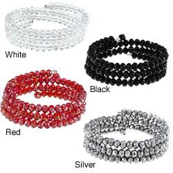 La Preciosa Crystal Bead Wrap Bracelet