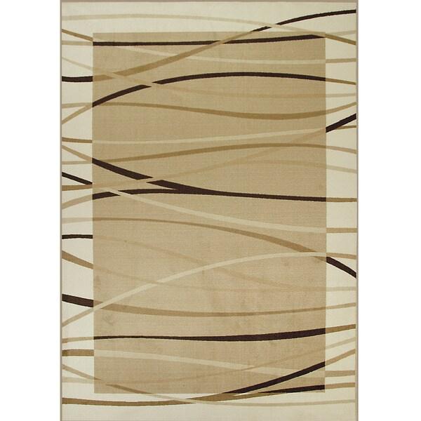 Somette Allestra Sahara Beige Rug (7' x 10')