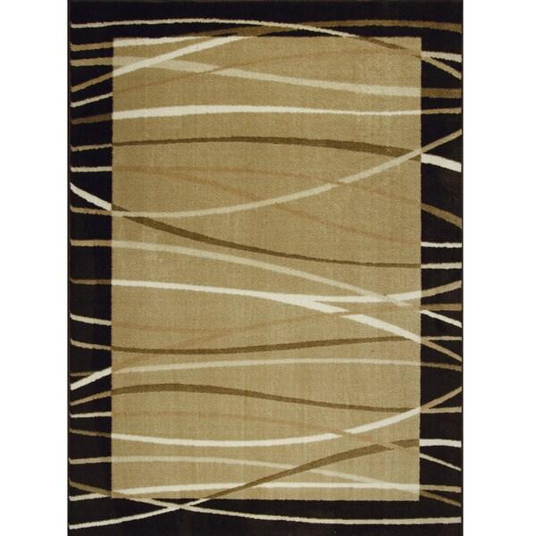 Somette Allestra Sahara Brown Area Rug (7' x 10')