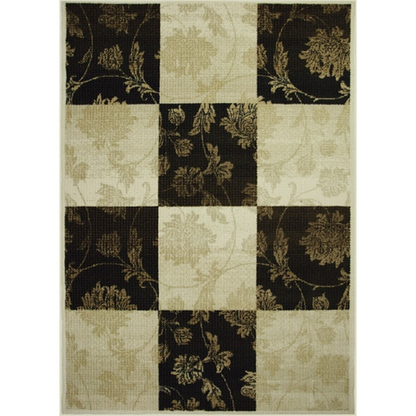 Somette Avante Melancholy Chocolate Rug (4' x 6')