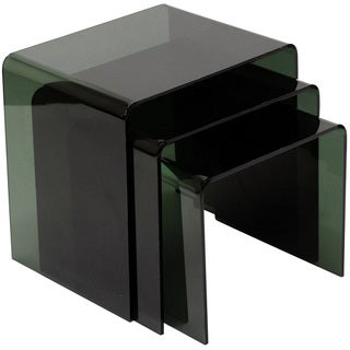 Casper Black Nesting Table (3-piece Set)