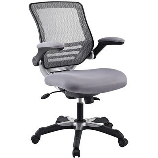 Porch & Den Nickerson Grey Mesh Office Chair