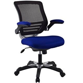 Edge Blue Mesh Fabric Office Chair