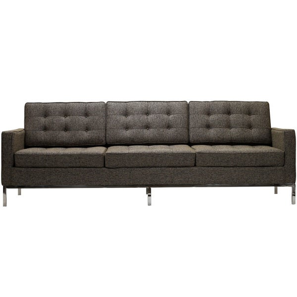 Florence Style Oatmeal Wool Sofa