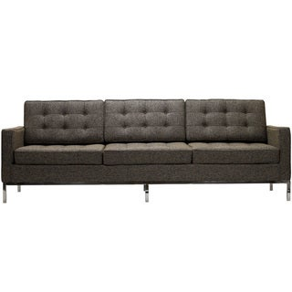 Florence Style Oatmeal Wool Sofa