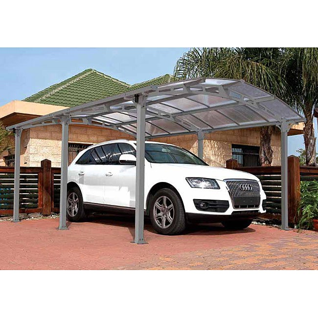 Vanguard 5000 Free Standing Car Port: Shop Palram Arcadia 5000 Carport
