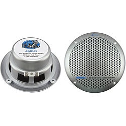 Lanzar Pair of 300W 5.25 Dual Cone Marine Speakers