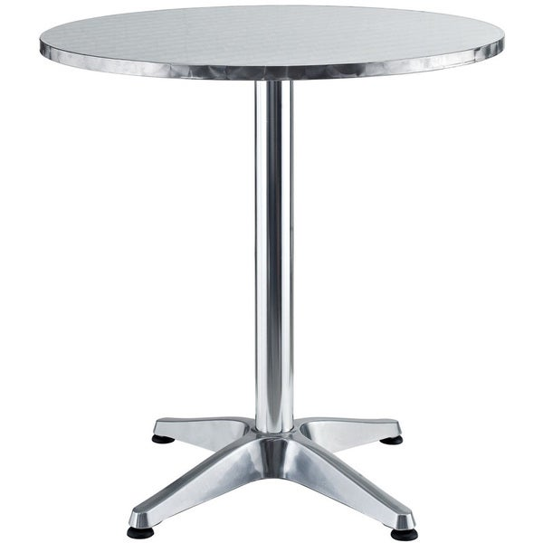 Pool Modern Round Aluminum Outdoor Table
