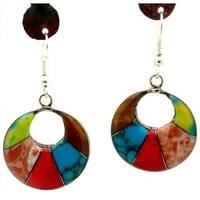 Handmade Arcada Stone Drop Earrings (Mexico)