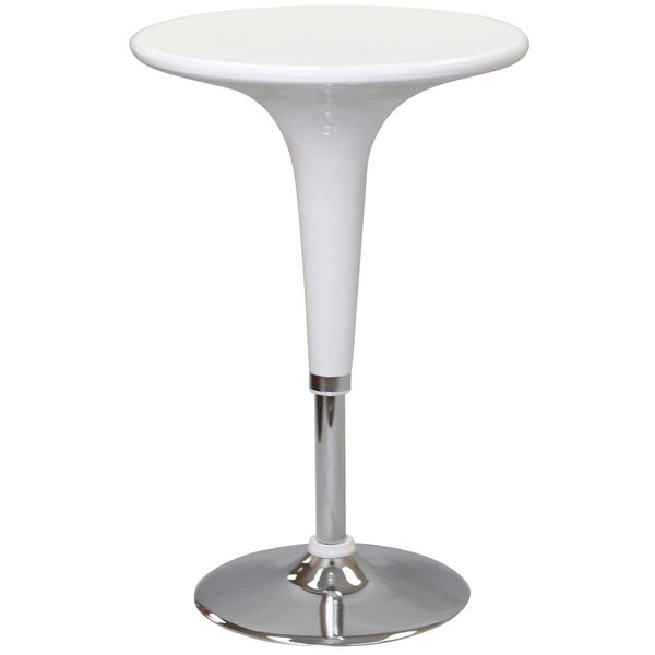 White Ice Cream Bar Table