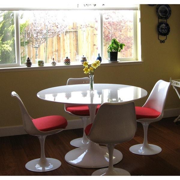 Eero Saarinen Style 36-inch Tulip Dining Table - Free Shipping ...